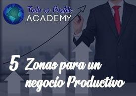 5 Zonas para un Negocio Productivo